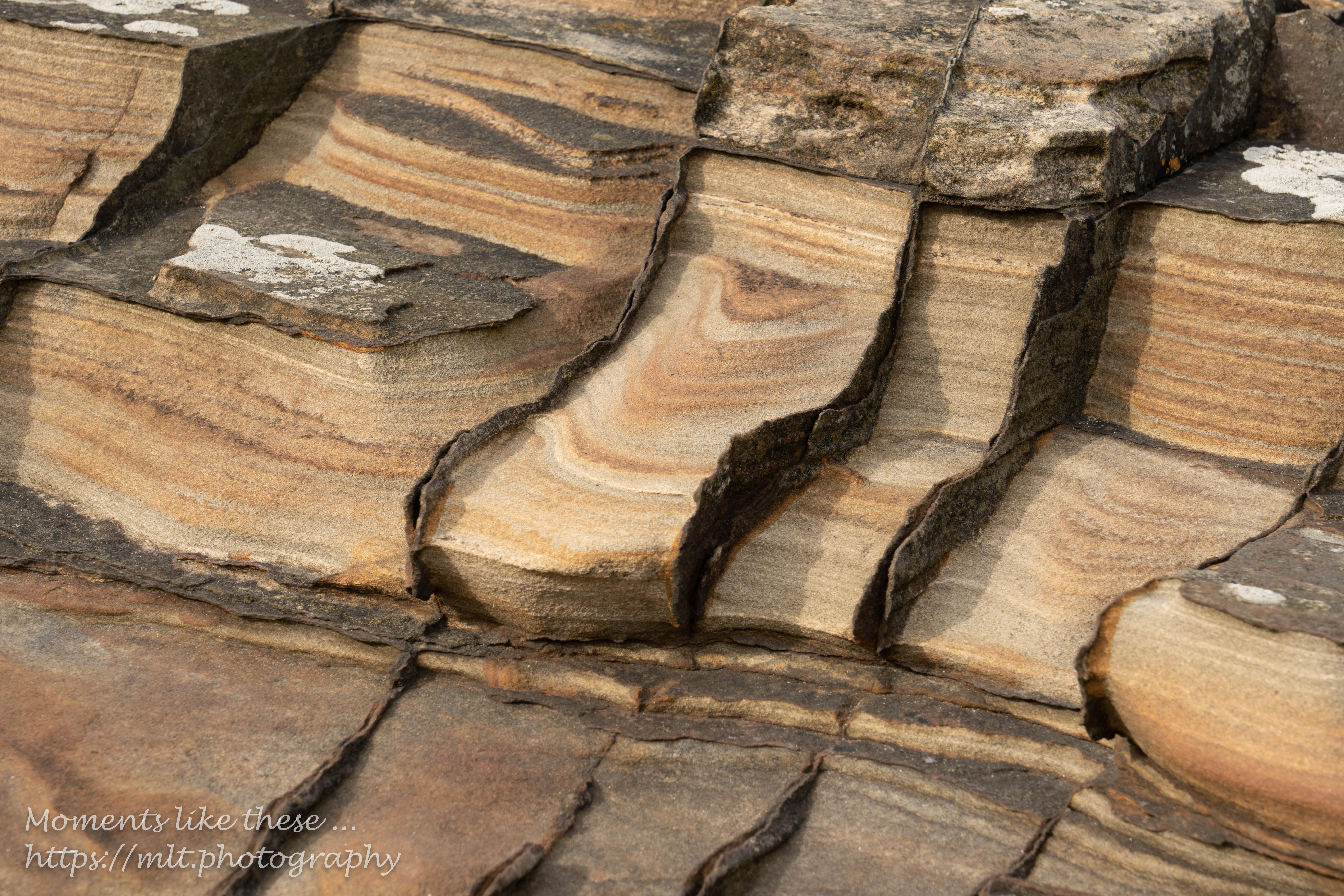 Patterns in sandstone