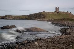 Dunstanburgh Castle - looking south