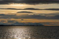 Sunset approaching Kristiansund