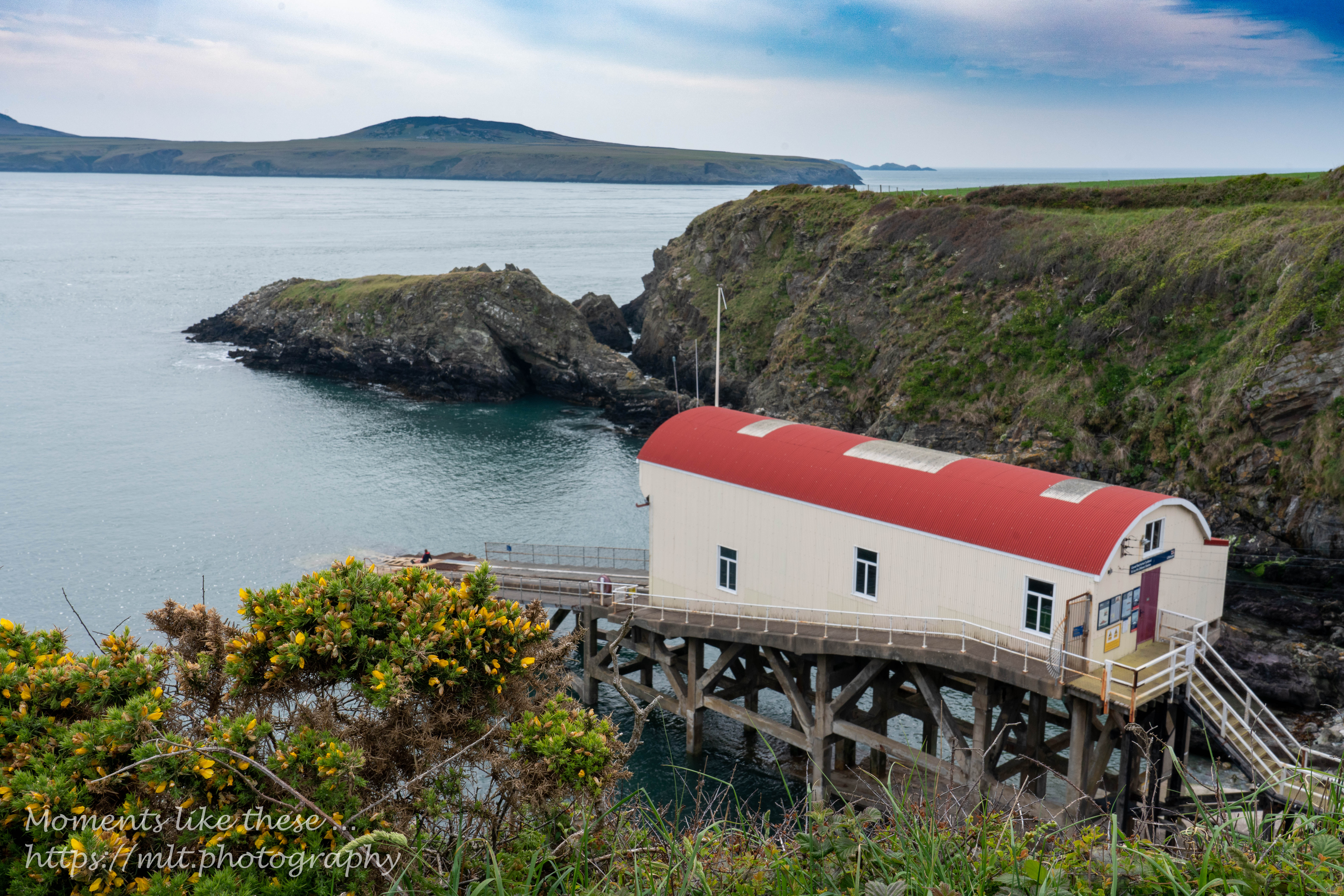 St Justininian - the old lifeboat station
