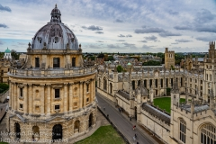 Radcliffe Camera from St Mary the Virgin
